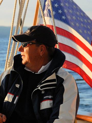 Schooner Ship Captain