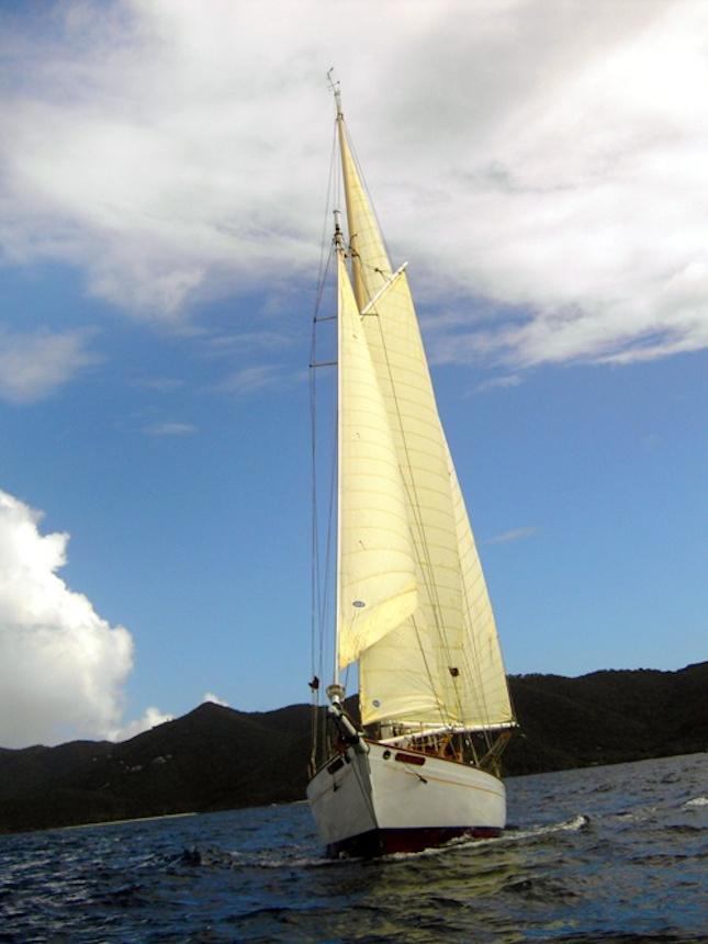 True Love Schooner Sails