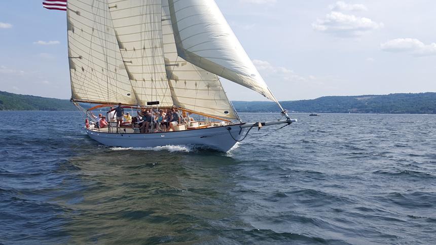 True Love Schooner Sail