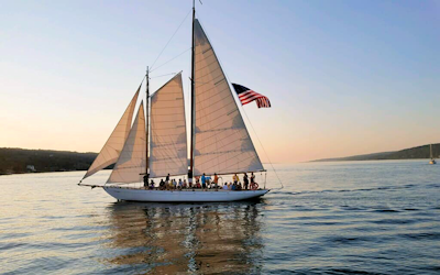 Sailing in the Finger Lakes - Sail True Love