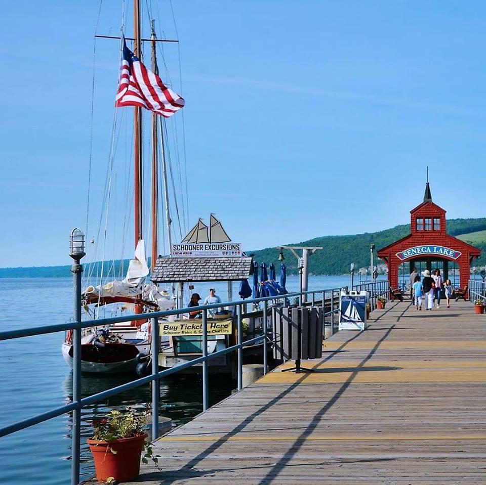 Schooner at the Pier